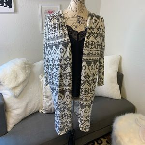 Tribal print duster